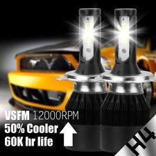 Pair H4 9003 HB2 488W 48800LM CSP LED Headlight Bulbs Kit High Low Beam 6500K