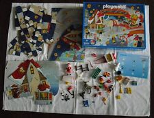 Playmobil Adventskalender 3955 SANTA CLAUS - KOMPLETT / UNBESPIELT! RAR! 	 Playm