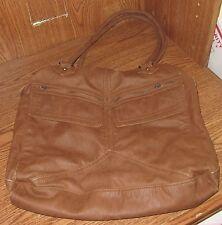 Vintage Converse One Star Bag Zipper Purse Medium Brown Used Pocketbook Shoulder