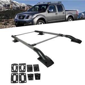 For 05-17 Nissan Frontier 4Dr Roof Rack/Rail Crossbar Luggage Carrier Aluminum