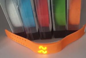UK Smart 3D Wrist Watch Pedometer Step Calorie Sleep Counter Sports USB distance