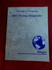 2001 Mercury Villager Wiring Diagrams manual electrical wire locations, testing