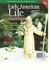 EARLY AMERICAN LIFE, CHRISTMAS, 2013  ( 2 COLLECTIONS 100s OF SANTAS 1000s OF