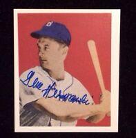 GENE HERMANSKI 1949 BOWMAN (1988 REPRINT) Autographed Signed Baseball Card 20