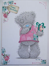 ME TO YOU TATTY TED HIDING THE LAST BIRTHDAY PRESENT BIRTHDAY GREETING CARD