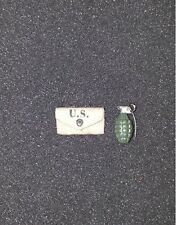 442nd Infantry Regiment Grenade with Pouch by Soldier Story 1/6th Scale Figure