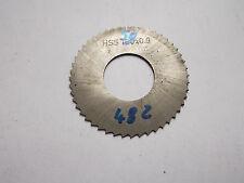 Scheibenfräser , Metall- Kreissägeblatt  50 x 0,9 x 22 mm ,  48 Zähne , HSS