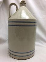 Vintage Crock Pottery Jug