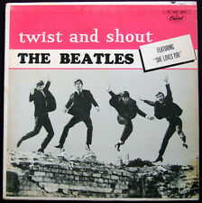 Beatles - Twist and Shout - Rare Original Canadian Mono LP - Capitol 6000 Series