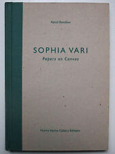 SOPHIA VARI PAPERS ON CANVAS BONAFOUX 1995 NOHRA HAIME GALLERY BOTERO