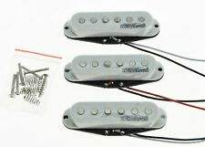 * NEW Wilkinson for Fender Stratocaster PICKUP SET Strat Pickups White Covers