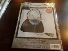 Design Works 12 X 12 Cross Stitch Picture Kit Polka Dot Purse 2729 #4145