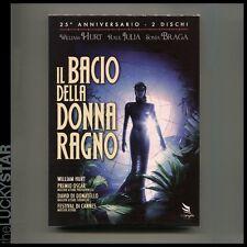 IL BACIO DELLA DONNA RAGNO 2 DVD SIGILLATO Ed. 25° Fuori Cat Babenco Hurt Gay In