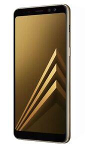 "NEW 32GB 4G Samsung Galaxy A8 SM-A530F 5.6"" Dual SIM Android Smart Unlocked-Gold"