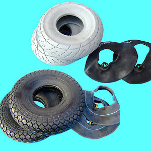 2 SET Reifen mit Schlauch für Elektromobil Elektro Scooter Rollstuhl E-Mobil