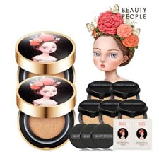 Beauty People Absolute Lofty Girl  Cushion Set SPF50+ PA+++ No.#21 Cover Sand