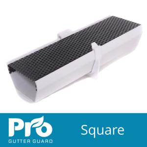 Pro Gutter Guard - Square 114mm - Leaf Guards - Gutter Guards - Gutter Brush