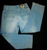 VTG LUCKY BRAND Mens Blue Jeans USA MADE GENE MONTESANO Denim 32 x 30 #231