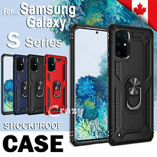 For Samsung Galaxy S20 FE S20 Plus Ultra Case Shockproof Magnetic 360 Ring Cover