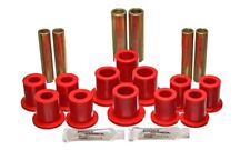 Energy Suspension Fd Rr Spring Bush Set Complete - Red - es4.2145R