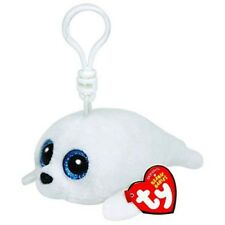 "TY Beanie Boos 3"" ICY the Seal Key Clip Plush Stuffed Animal Collectible Toy"