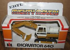 *IH International Harvester 640 Excavator 1/64 Mighty Movers Ertl Toy 1854
