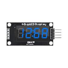 "Blue TM1637 0.36"" inch 7-Segment 4-Digit LED Display Clock LED Tube Module"