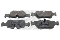 Bremsbelagsatz, Scheibenbremse für Bremsanlage Vorderachse MAPCO 6417