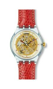 SWATCH AUTHENTIC ABENDROT SAN103 AUTOMATIC WATCH (1993 VINTAGE COLLECTABLE)