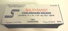 """2 EA Chalkboard / Dry Erase Board - Eraser, All Felt, Sewn, 5""""W x 2""""D x 1.25""""H"""