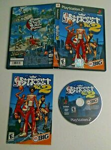 NBA Street Vol. 2 (Sony PlayStation 2, 2003) Complete TESTED