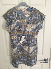 Roxy Designer Womens Short Summer Dress - Size 10