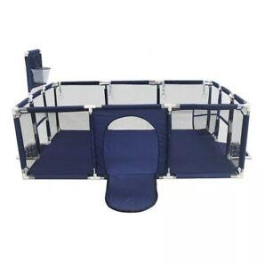Recinto Bambini Box di Sicurezza per Bambini 4-36 Mesi Colore Blu