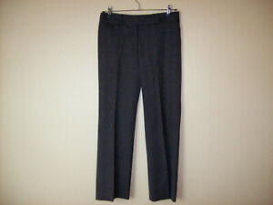 Ann Taylor Size 8 Ladies Slacks Pants Black Lindsay Style New without Tags
