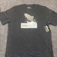Sage Fly Fishing T Shirt Splashing Tarpon Black Sizes L xl You Pick New!