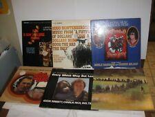 Lot of 6 Clint Eastwood soundtrack vinyl LP