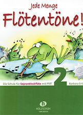 Blockflöte Noten Schule : Jede Menge Flötentöne  2 - mit CD  (Ertl) - VHR3618-CD