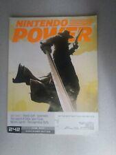 **NICE w/INSERT ATTACHED!!! Nintendo Power Magazine # 242 June 2009 Zelda