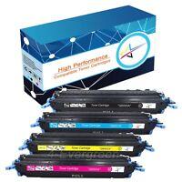 4pcs Color Toner Set For HP LaserJet 1600 2600 2600n 2605 2605dnt Q6000A 124A
