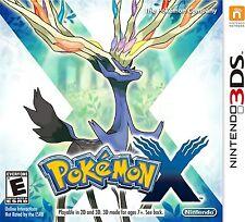 Pokémon X (Nintendo 3DS, 2013) Brand New - FREE SHIPPING