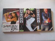 SAMURAI GIRL CARRIE ASAI LOT OF 3 PAPERBACKS Books # 1 3 5 The Sword Pearl Flame