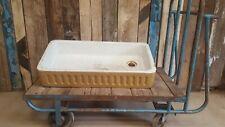 Original Gorgeous Vintage antique butlers Belfast farmhouse kitchen sink WC