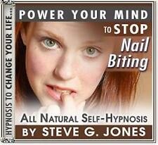 DR.STEVE G. JONES Clinical Hypnotherapist STOP NAIL BITING HYPNOSIS CD
