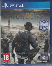 Watch Dogs 2 Gold Edition PS4 PlayStation 4 Brand New Factory Sealed