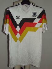 MAGLIA CALCIO SHIRT TRIKOT MAILLOT GERMANIA GERMANY 1990 n°10 REMAKE tg. M
