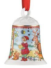 Hutschenreuther - Weihnachtsglocke 2016 - Porzellanglocke - Glocke - NEU - OVP