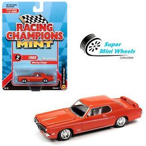 Racing Champions Mint - 1:64 - 1969 Mercury Cougar Eliminator Boss 302 (Orange)