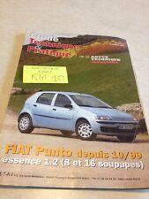 Revue Technique Automobile Fiat Punto essence 1.2 depuis 10 / 99 RTA ETAI