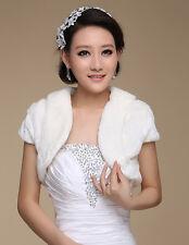 Women Wedding Stole Bridal Shawl Shrug Wrap Cape Bolero Scalf Coat Jacket Winter