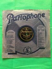 Disque ancien 78 Tours marque PARLOPHONE pour gramophone avec pochette originale